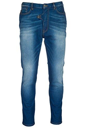 Emporio Armani vaqueros jeans denim de hombre pantalones nuevo blu EU 32 (UK 32) 3Z1J011D50Z0941
