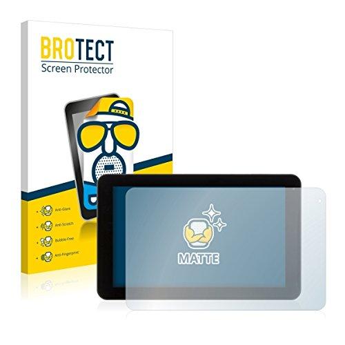 2X BROTECT Matt Bildschirmschutz Schutzfolie für Xoro TelePAD 9A1 (matt - entspiegelt, Kratzfest, schmutzabweisend)