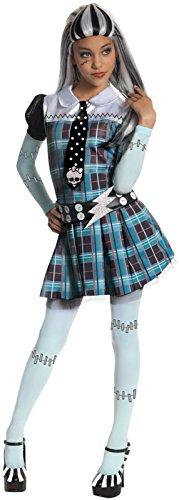 Schickes Frankie Stein Monster High-Kostüm für Mädchen 110/116 (5-6 Jahre) (Monster High Frankie Stein Kostüme)