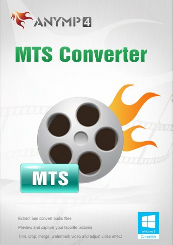 AnyMP4 MTS Converter Lifetime License - MTS Videos in MP4, MOV, AVI, WMV, MPEG und andere Formate konvertieren [Download] - Avi-format-software