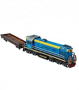 "Keranova keranova293Escala 1: 87""Clever Papel colección de ferrocarril Locomotora de Diesel tem-2u 3D Puzzle (maletín)"