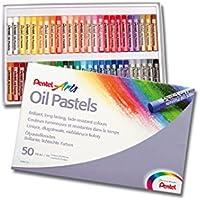 Pentel PHN Pastelli Olio, Confezione da 50 Pezzi