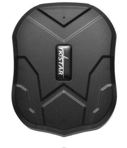 Juneo TKSTAR tkstar Localisateur GPS Tracker pour Voiture Véhicule avec applications, aimant puissant et portable sans batterie 5000 mAh