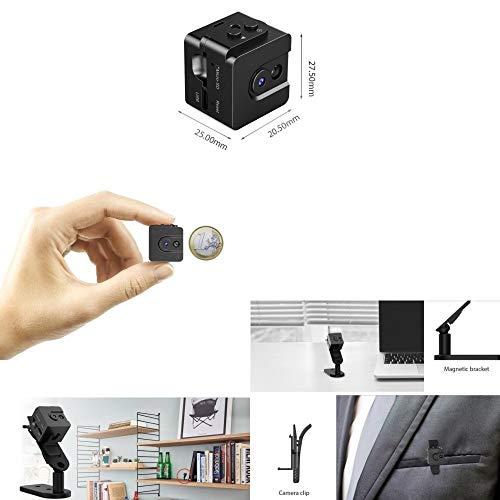 MENRAN T16 Mini-Digitalkamera mit Batteriebetrieb, zur Aufzeichnung von Fotos, Audio und Video in HD 720p mit 30 fps
