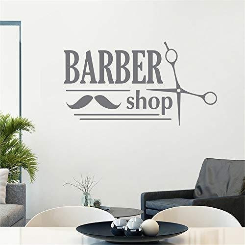 lyclff Man Barber Shop Aufkleber Shave Bread Aufkleber Haircut Shavers Poster Vinyl Wall Art Decals Decor Windows58 * 106cm - Hello Kitty Pflaster