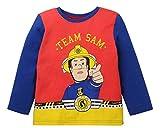 Sam el bombero Pijama (110/5 años, Rojo/Azul)