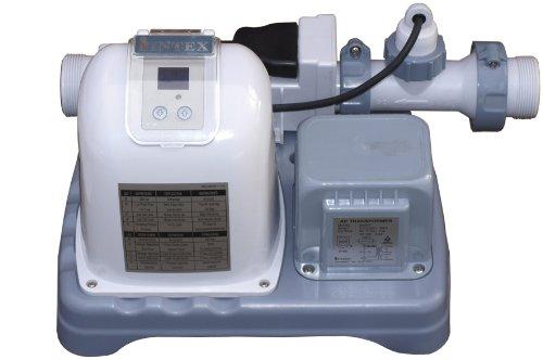 Intex 12-28664GS Krystal Clear Salzwassersystem, Chlorgenerator Generation 3, 230 V, 125 W, TÜV/GS, benötigte Filterleistung mindestens 2,650 l/h - 2