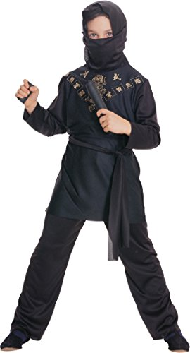 Ninja - Childrens Costume - Large - 147 (Ninja Kostüme Child Boy)