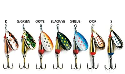 New Abu Garcia Droppen 8G Spinner Lure All Colours by Abu Garcia
