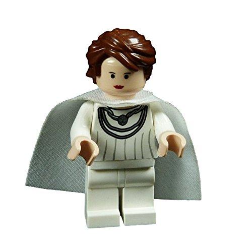 Lego Star Wars Figur Mon Mothma weiss Rebellen Anführerin aus Set 7754 F31