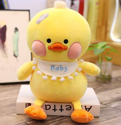 HULIN Niedliche kleine gelbe Ente Puppe Plüschtier große Ente Ragdoll Puppe Mädchen Kind Geburtstagsgeschenk 55cm1St (Große Niedliche Plüschtiere)