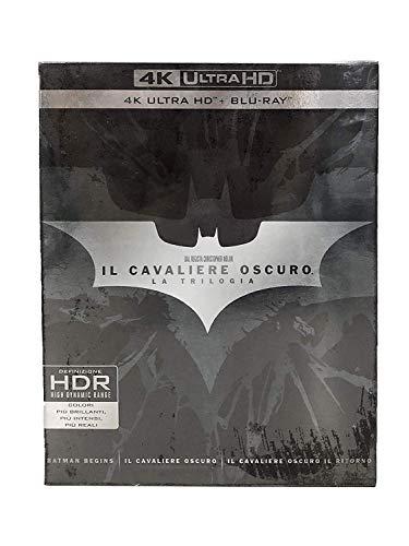Il Cavaliere Oscuro  - La Trilogia (9 4K Ultra Hd+Blu-Ray)
