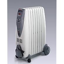 DeLonghi KG010715R - Radiador de aceite, 1500 W, color gris
