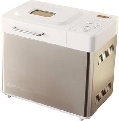 Kenwood BM256 Bread Maker, Brushed steel, Blanco, 480 W, 345 x 250 x 310 mm - Máquina de hacer pan
