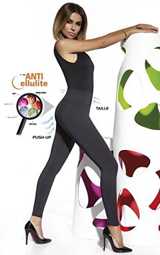 elegante Shape-Leggings versch. Styles * formend modellierend schlankmachend * Gr. S M L XL XXL Schlankmacher Leggins Damenhose Push-Up Schwarz (Candy)