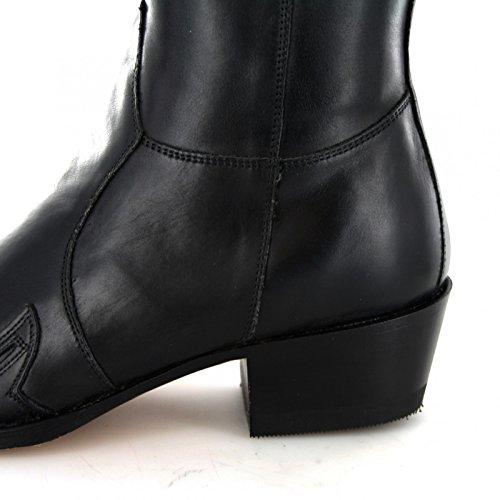 Sendra Boots  7783, Bottes et bottines cowboy mixte adulte Beige - Negro Grafit