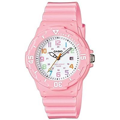 CASIO LRW-200H-4B2 - Reloj con movimiento cuarzo, para mujer, color blanco y rosa
