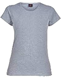 Canterbury Womens Plain T-Shirt, Grey (Size 12)
