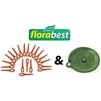 20 plaquettes de coupe & 1 plaque de coupe Florabest LIDL Coupe-bordures sans fil FAT 18 B2 et FAT 18 B3 - IAN 71315, 86154, 95940, 102971, 273039
