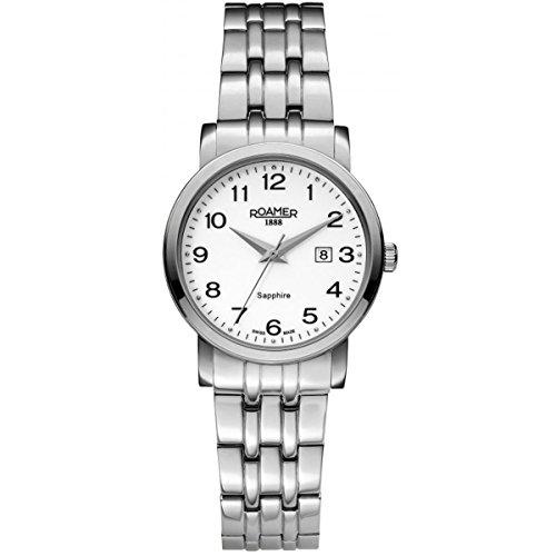 Damen-reloj Roamer cuarzo analógico de acero inoxidable 709844 SM1