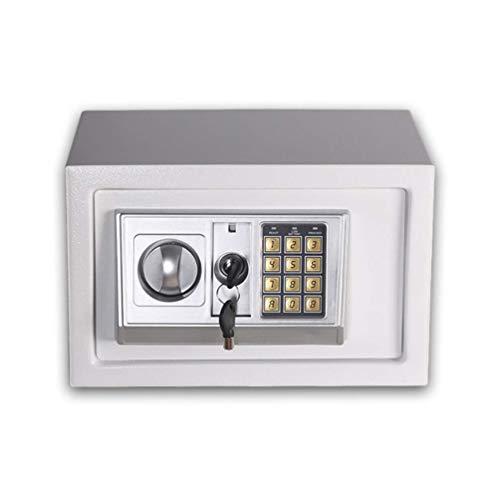 DLINMEI Digitaler elektronischer Safe Kleiner Home Office-Safe mit digitalem Schlossschrank Safe für Schmuck Money Gun Wertsachen