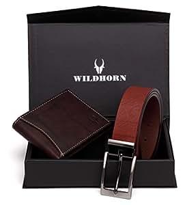 WildHorn Brown Men's Wallet (GIFTBOX198)