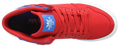 Supra Unisex-Erwachsene Vaider D High-Top Rot (RED / ROYAL - WHITE RDR)