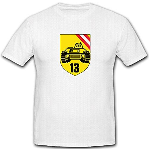 PzGrenBtl 13 Panzergrenadierbataillon Panzer Bataillon Kompanie Wappen Abzeichen Emblem Bundesheer - T Shirt Herren L #5133