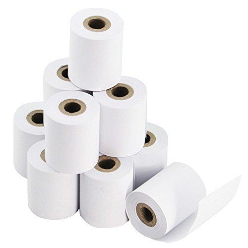 50 rollos 57 mm x 43 mm Premium papel térmico rollo