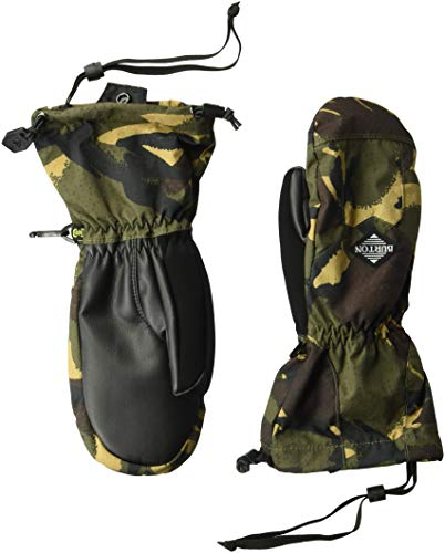 Burton Boys Youth Profile Mitt, Seersucker Camo, X-Small -