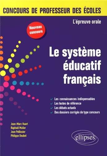L'Épreuve Orale le Système Éducatif Français CRPE Nouveau Concours