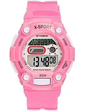 Children's watch wasserdicht luminous electronic multi-funktion-B