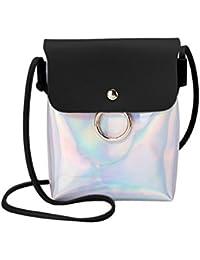 a0871beb5b748 Zolimx Portable diagonal kleine quadratische Tasche Umhängetasche  Handtasche