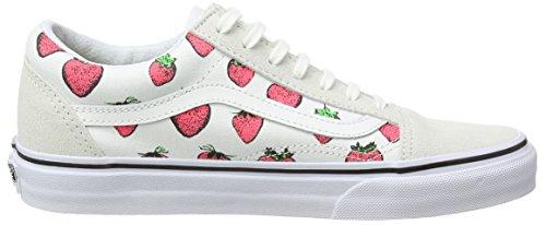 Vans Old Skool - Scarpe da Ginnastica Basse Unisex – Adulto Bianco (strawberries/true White) Barato Amplia Gama De Nuevos Estilos Baratas Barato ylIKn7T