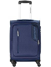 Kamiliant by American Tourister Kam Kojo Polyester 56.5 cms Blue Softsided Cabin Luggage (KAM KOJO SP 56.5 cm - Blue)