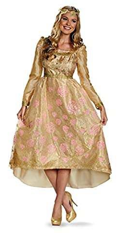 Adult Aurora Costumes - Disguise Aurora Coronation Gown Deluxe