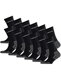 HEAD Unisex Performance Crew Socken Sportsocken 12er Pack