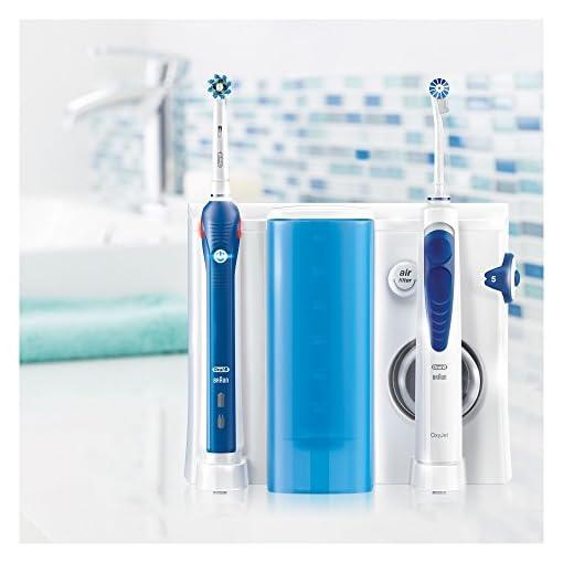 Oral B Oxyjet Sistema Pulente con Idropulsore per l/'Igiene Orale dei Denti Braun