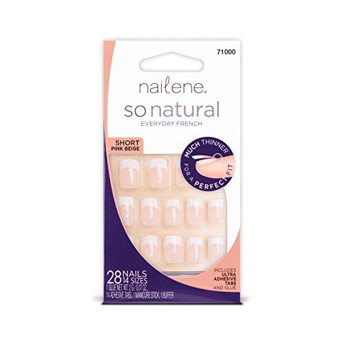Nailene – so natürliche Klebenägel mit perfekter Passform in pink.