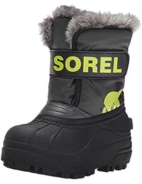 Sorel CHILDRENS SNOW COMMANDER, Unisex-Kinder Warm gefütterte Schneestiefel, Rot (Coral Pink