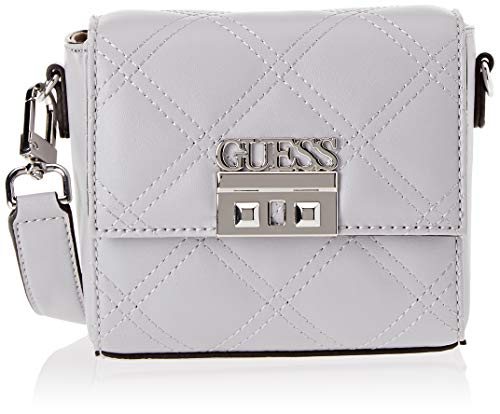 82ffdd6ccc Guess Guess Status, Women's Shoulder Bag, Grey (Cloud/Cld), 18x14