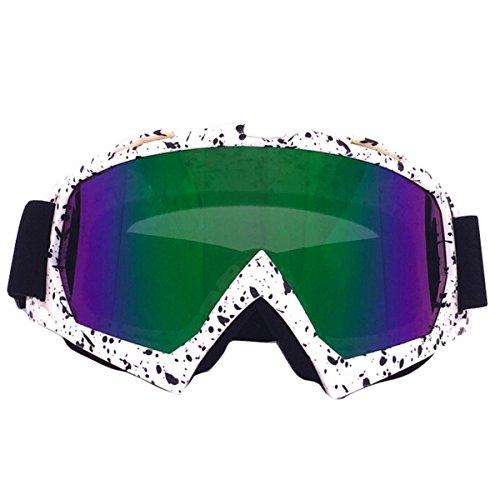 Butterme Ski-Schutzbrillen Snowboard-Brillen Einstellbarer UV-Schutz Anti-Fog-Ski-Schutzbrillen...