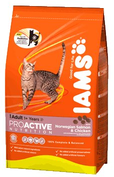 Iams Cat Adult With Succulent Norwegian Salmon