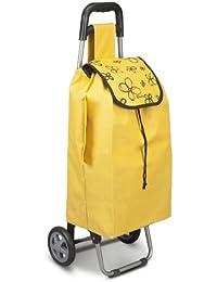 Metaltex Daphne / 415205126 Chariot de courses Jaune