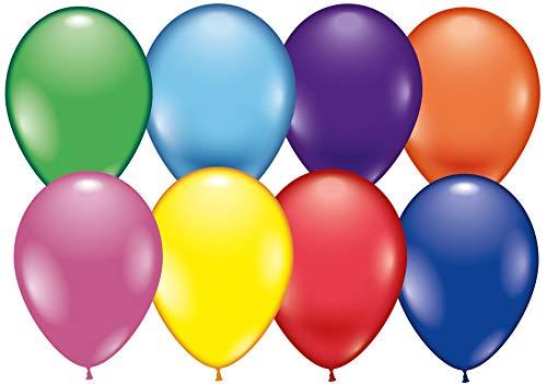 Karaloon G11099 - 100 Ballons 28 cm, Sortiert (Luftballons Amazon Prime)