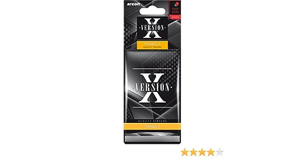 Areon Axv02 Lufterfrischer X Version Vanille Auto