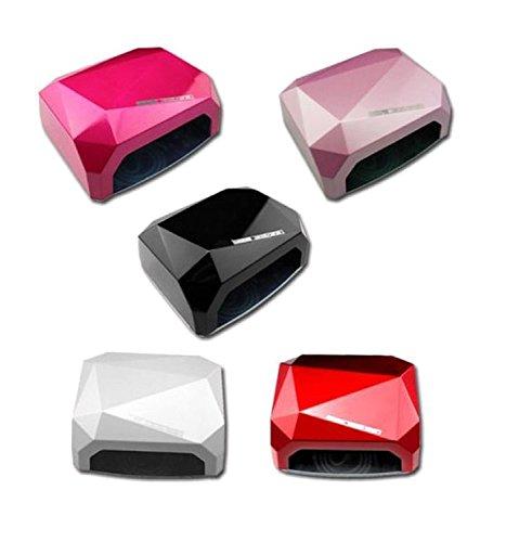 Tempo di saldi lampada uv ccfl led ricostruzione unghie nail art timer 36w diamante fornetto
