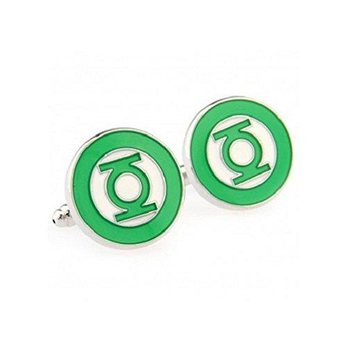 S+S SS green Lantern Manschettenknöpfe für Herren