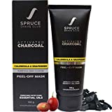 #2: Spruce Shave Club Activated Charcoal Peel Off Deep Pore Cleansing and Blackhead Removal Mask (100 g)