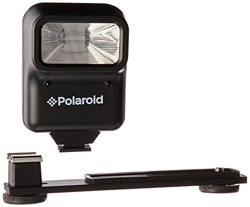Polaroid Studio Series Pro Slave Flash Kompaktes Blitzlicht Schwarz - Kamerablitze (Kompaktes Blitzlicht, Schwarz, Canon,Nikon,Sony, Flash aus, Normal, Slave, Hängende Kiste)